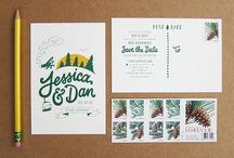 Wedding invitations / i love weddings and especially unique and artistic wedding invitations