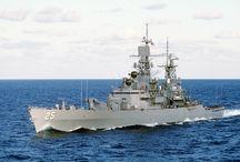 Military Battle ships