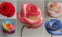 chrochet roses