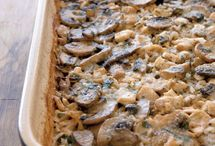 Marsala Chicken-and-Mushroom Casserol