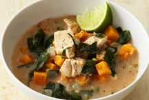 food: soups and stews / by Rebecca Benson
