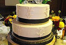 Hochzeitstorte mit Traktor