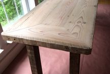 Vintage Wood Farm Tables / Carefully crafted from century old wood and made to last another 100 years