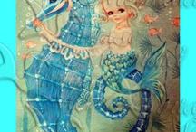Mermaid nursery ideas / by Marie Hamilton