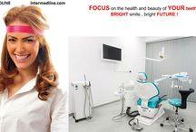 Clinique dentaire en Roumanie. / Recherchez vous une clinique dentaire en Roumanie et avez vous besoin de savoir plus d'info ? Nous présentons ici nos cliniques modernes pour vous, et vous pouvez choisir ce que vous aimez le plus !