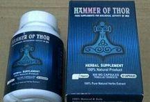 Hammer Of Thor / Obat Kuat Pria Tahan Asli Buatan Italy, Dibuat Dari Bahan Alami Sangat Aman Di Konsumsi Semua Usia Tanpa Menimbulkan Ketergantungan Atau Efek Samping. http://jualanhammerofthor.com/