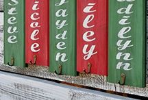 Christmas Stocking Holders Personalized