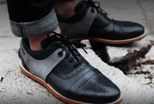 Fancy Footwork / Stylish wedding shoes for the guys