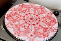 Demute / Custom handmade slipmats