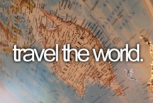 Well traveled / The World is a book, and those who do not travel read only a page.  ~St. Augustine  / by Jennifer Henderson