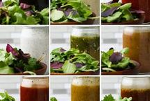 9 salad dressings in a jar