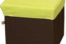 BOX STOOL Green / BLC377GR