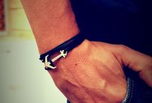 STERNIK & KUTER / anchor bracelet