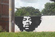 Street Art / Diverse soorten kunst van de straat.