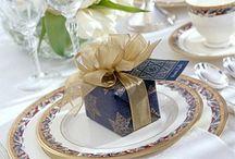 Table setting chrismas