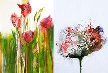 Voir Fine Art Gallery: Flower paintings