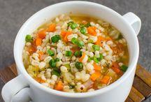 Préparation de soupes