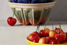 In my kitchen / #kitchen #bowls #colors