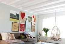 Bonus Room Decorating Ideas / by Christy Allison