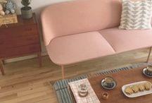 Mid Century  | Love to Home / Do you love the simplicity, functionality and elegance of the mid century trend? Think Mad Men, with Don Draper sprawled out on your sofa...