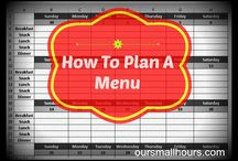 Menu planning / by Taryn Meek