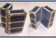 Mini Tutes Luggage / Tutorials for mini suitcases etc