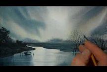 watercolor paintings tutorials