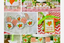 peas & carrots party ideas