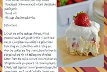 RECIPES / Food and sweets
