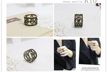 Rings I want / by Chloè Cody Mei Amansec