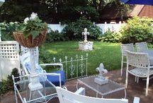 Gallic Garden - Our French Garden / Studio Spaces for Maison Fleur de Lis' Creations