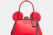Disney x Coach / Adorable new line of Disney themed merchandise sold at Coach. Need it all!
