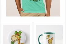 Cute Cartoon Horses and Ponies T-Shirts and Merchandise collections by Cheerful Madness!! at Zazzle