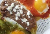 pal desayuno Huevos