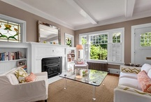 Lovely Living Spaces / Design Ideas for family rooms and other common living areas / by Rebecca McConnell