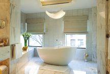 Bathrooms & Powder Rooms / by Lourdes Gabriela Interiors