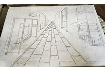 Mekan çizimlerim / İç mimarlık