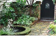 ponds and fountains / by Mary Fluaitt