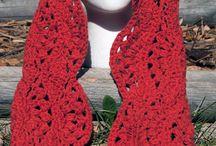 Crochet Inspiration - Scarves / by Deana Mateo