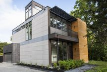 RK7.2 LivingHome: Toronto / Designed by Ray Kappe, FAIA, the RK7.2 includes 3+ bedrooms, 2.5 baths in 2205 sf.  It is located in Toronto, Canada.  Like all LivingHomes, this home features an extremely comprehensive environmental program, which we expect to achieve LEED Platinum certification.