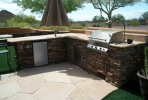 BBQ areas.