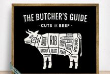 Butcher's Guide Prints / Butcher's Guide Prints