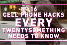 Phone Hacks / Phone tips and tricks to solve common problems and improve use of phone. Good tips for the Do It Yourselfers.