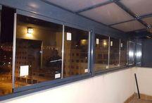 Carpintería de Aluminio y PVC / Trabajos de carpintería de aluminio y PVC de Ventanas Roma.  http://ventanasroma.com/