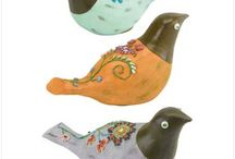 Birds Of A Feather ... / Little birds that inspire me! / by Katie Crawford