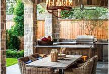 Arbours pergolas fences patio ideas