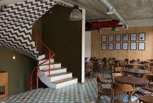 Rehab College Bar / Design Interior College Bar - Bar Design