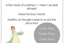 Easy Dinner Ideas / by Allison J-R