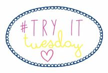 #TryItTuesday  / Every tuesday share the crafty projects you've made from your favourite DIY blogs!