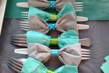 Boy baptism/party ideas